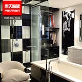 黑白系列抛光地板砖 室内店铺瓷砖