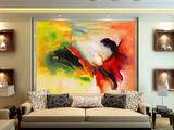 艺术彩画系列瓷砖背景墙