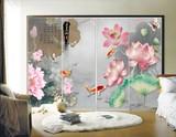 彩雕瓷砖背景画
