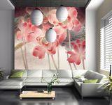 皮影雕舒雅瓷砖背景画
