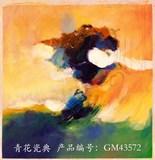 艺术油画背景墙