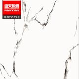 白透黑纹大理石 全抛釉地砖