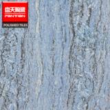 梵高石瓷砖 蓝色纹理抛光砖